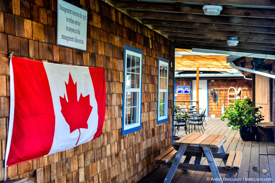 Floathouse Patio & Grill (Ucluelet, BC)