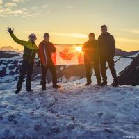 Навстречу солнцу в день 150 летия Канады