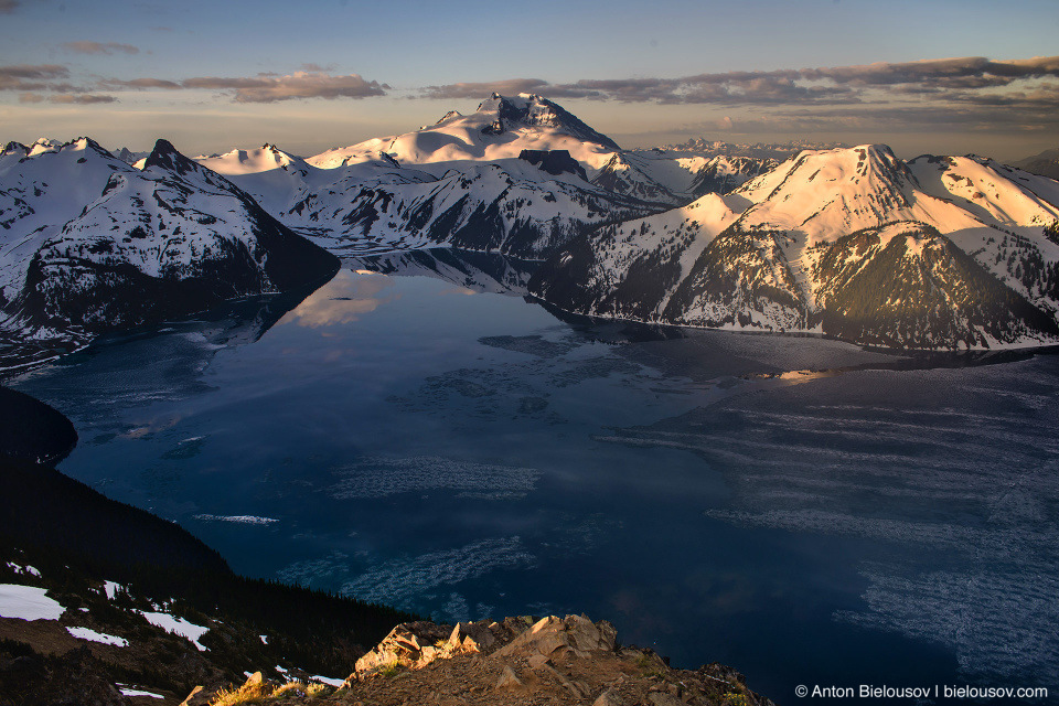 Garibaldi Lake and Garibaldi Mountain