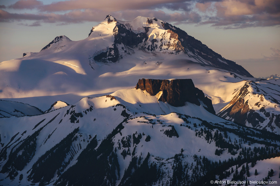 Mount Garibaldi and The Table Mountain