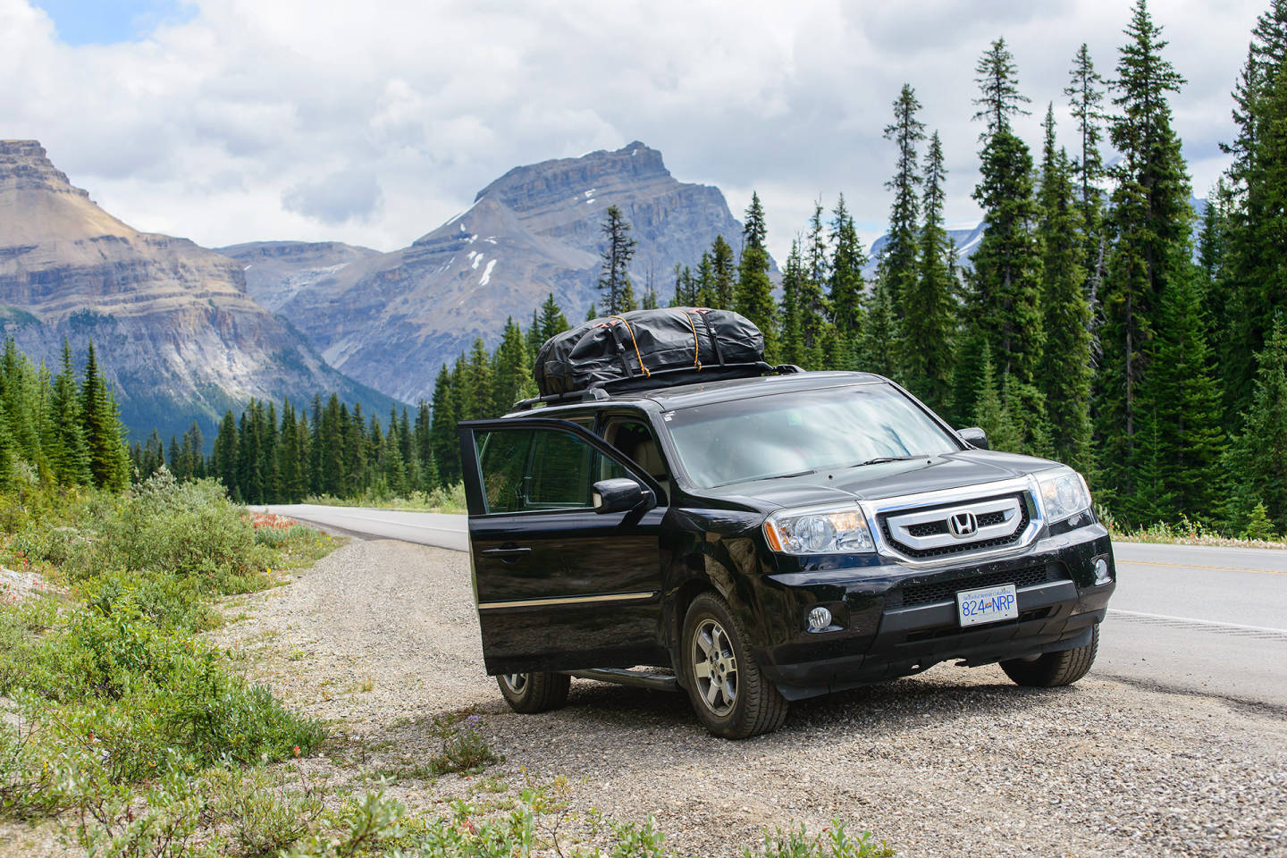 2009 Honda Pilot in Banff National Park