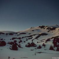 В 3 часа утра небо стало постепенно светлеть.