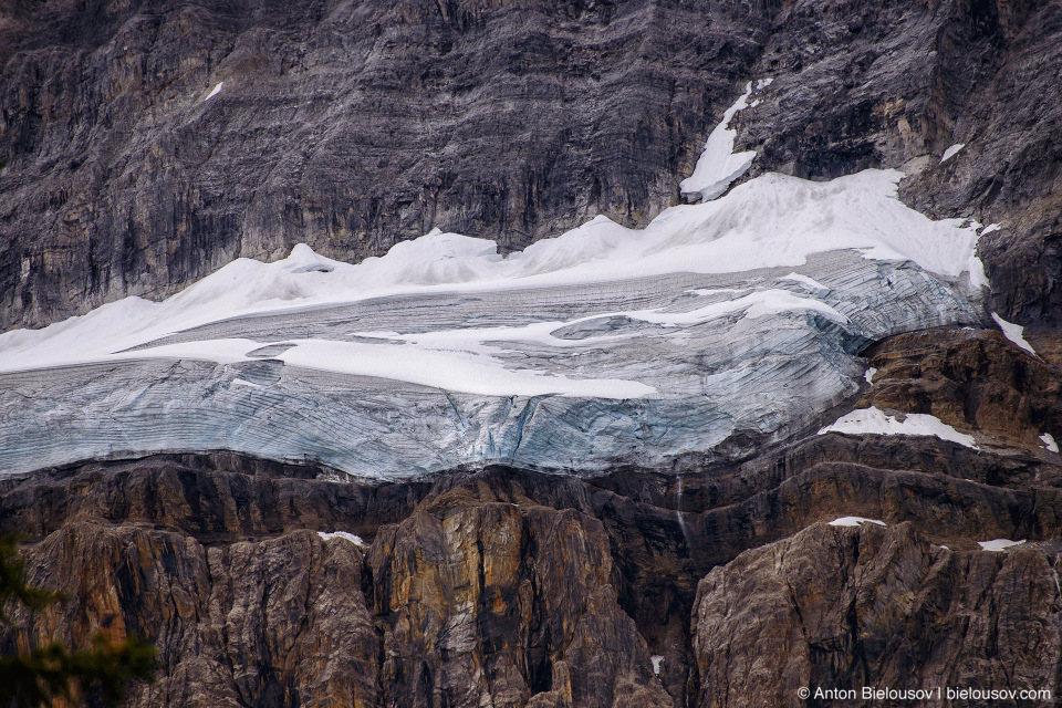 Icefields Parkway glaciers (Banff National Park)