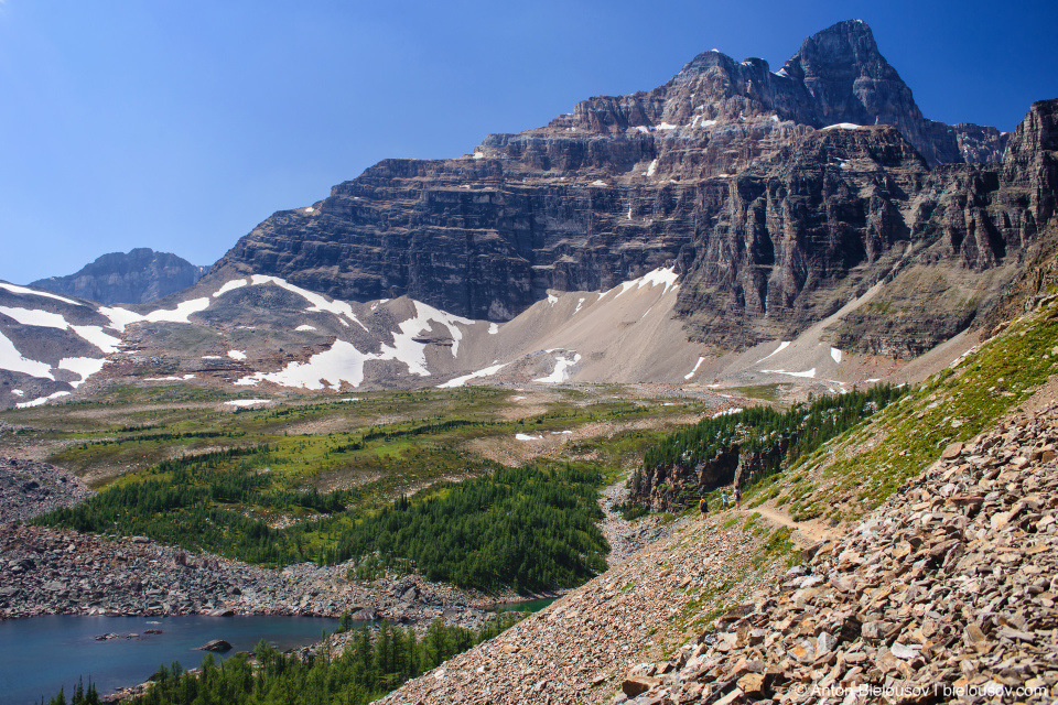Valley of Ten Peaks and Eiffel Lake, Banff National Park