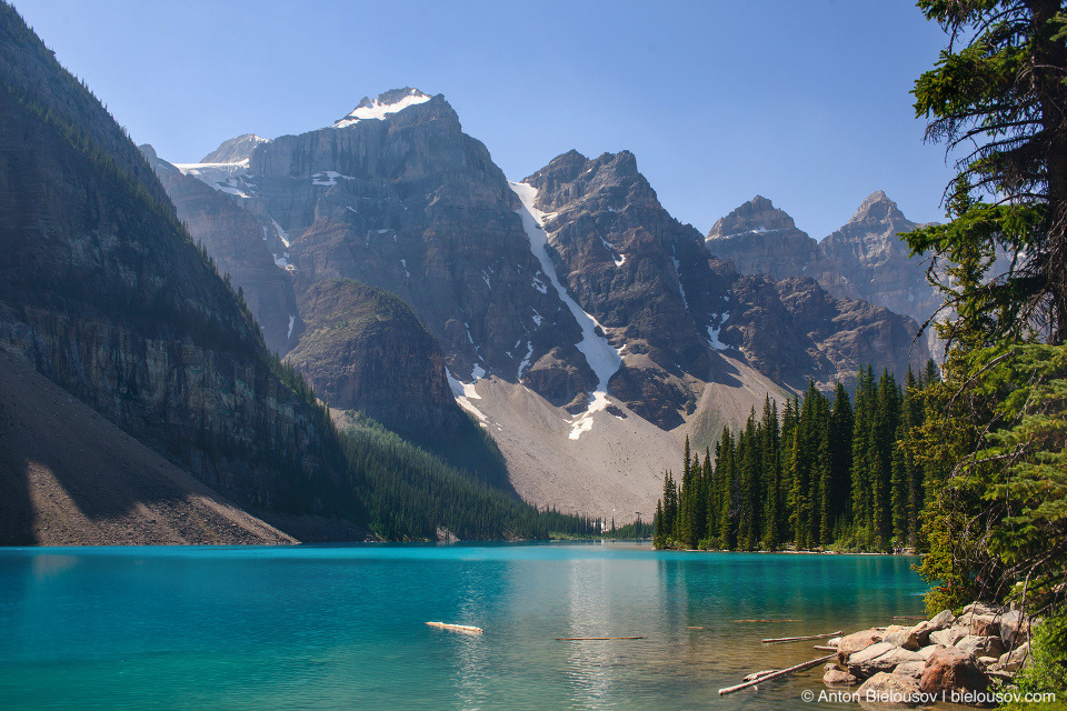 Lake Moraine (Banff National Park)
