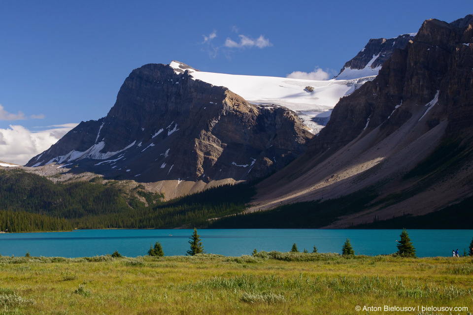 Bow Lake Crowfoot Glacier (Banff National Park)