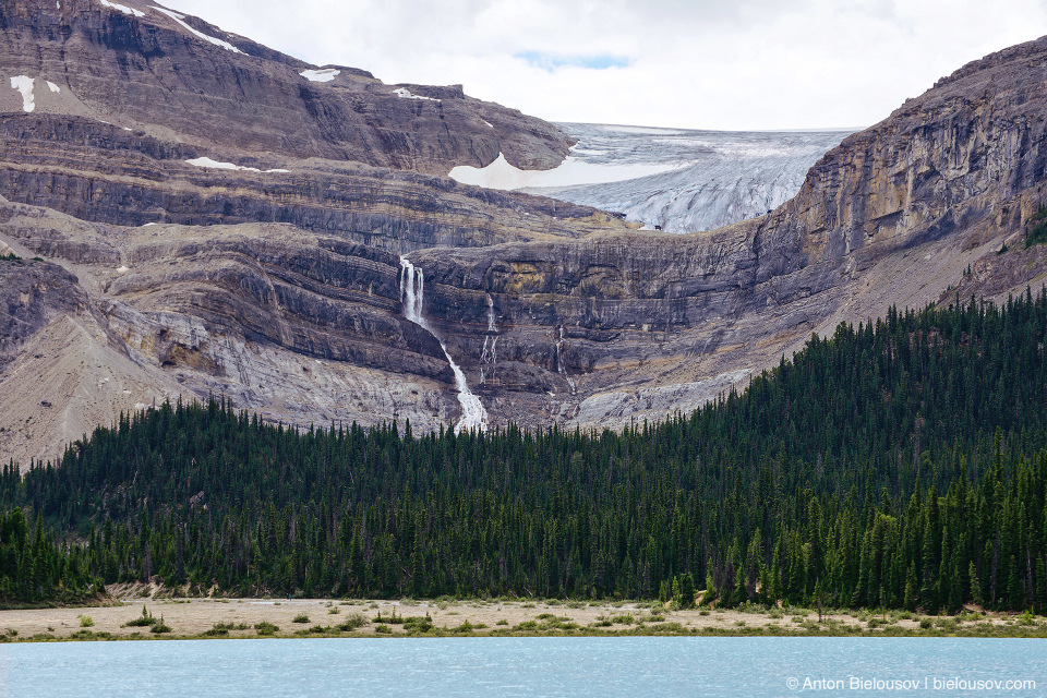 Bow Glacier Falls (Banff National Park)