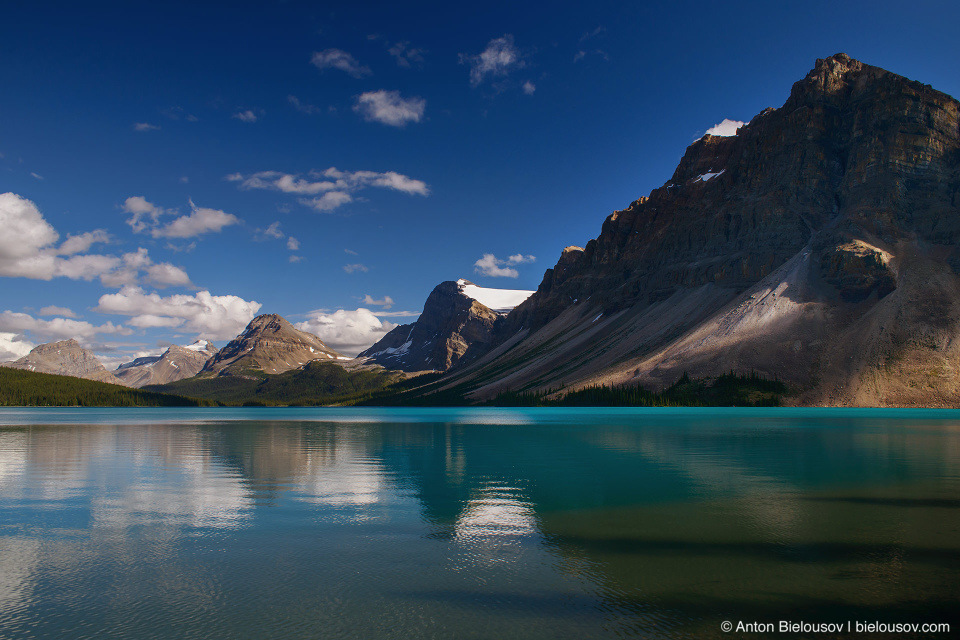Bow Lake Crowfoot Mountain (Banff National Park)