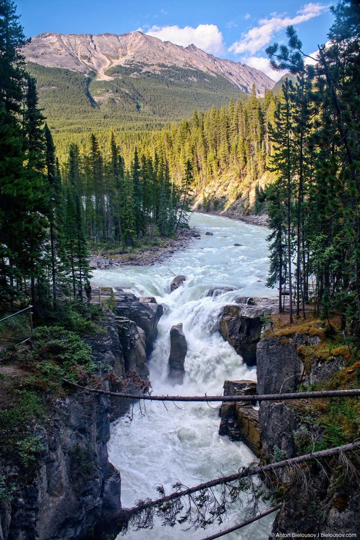 Athabasca Falls, Jasper National Park, AB