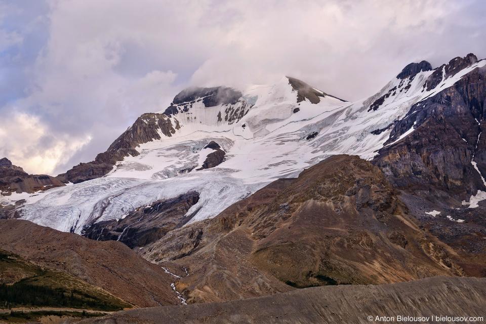 Columbia Icefield glaciers, Jasper National Park