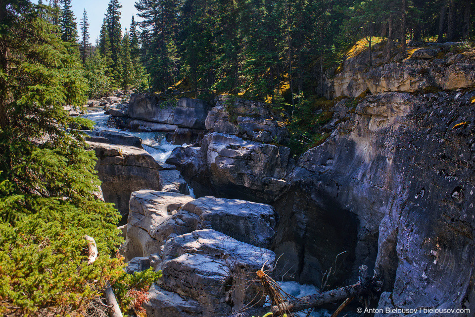 Maligne Canyon, Jasper National Park, AB
