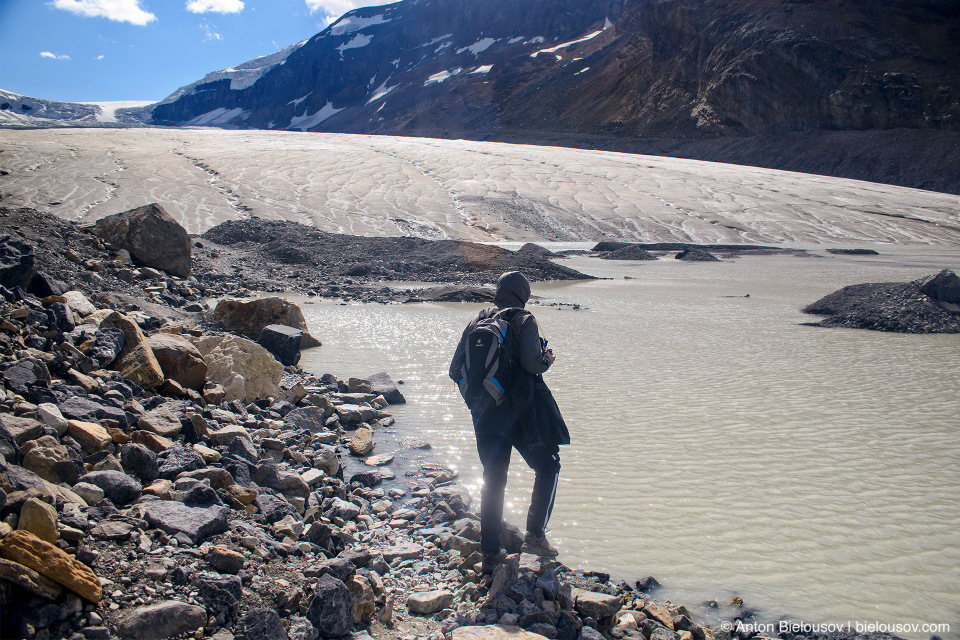 Athabasca Glacier, Columbia Icefield, Jasper National Park