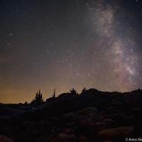 Тиха альпийская ночь