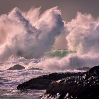 Сезон штормов на острове Ванкувер