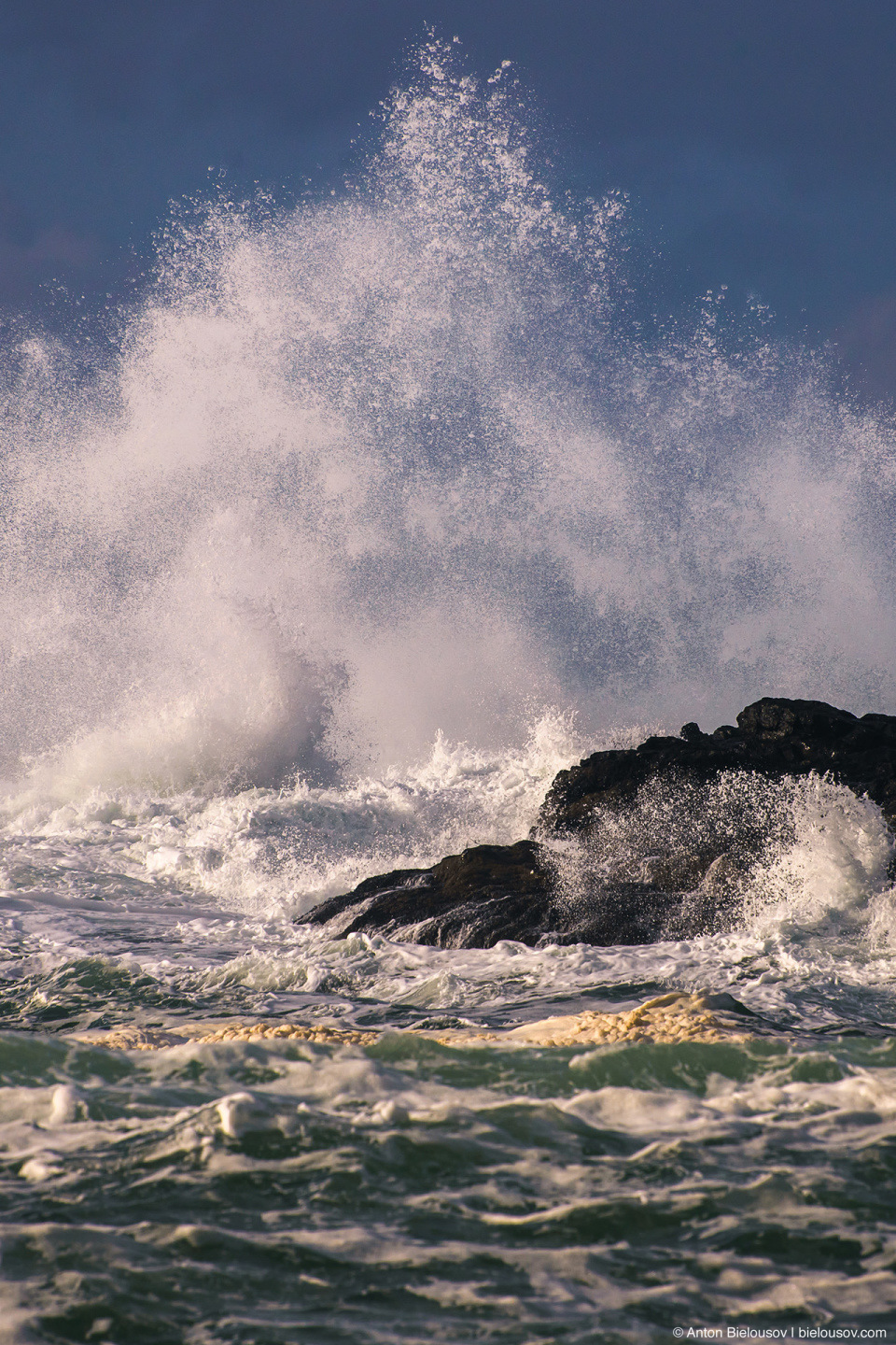 Storm in Ucluelet, BC