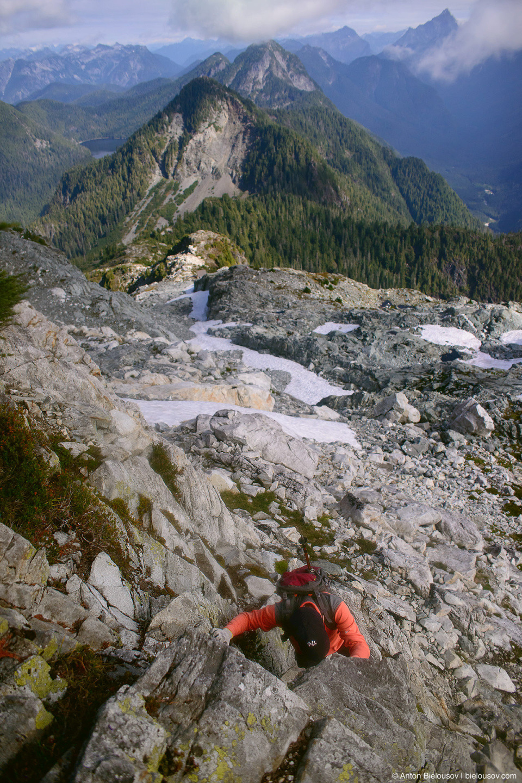 Golden Ears Peak climbing