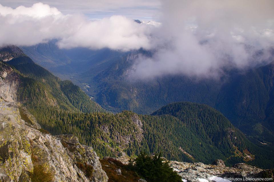 Golden Ears Peak view