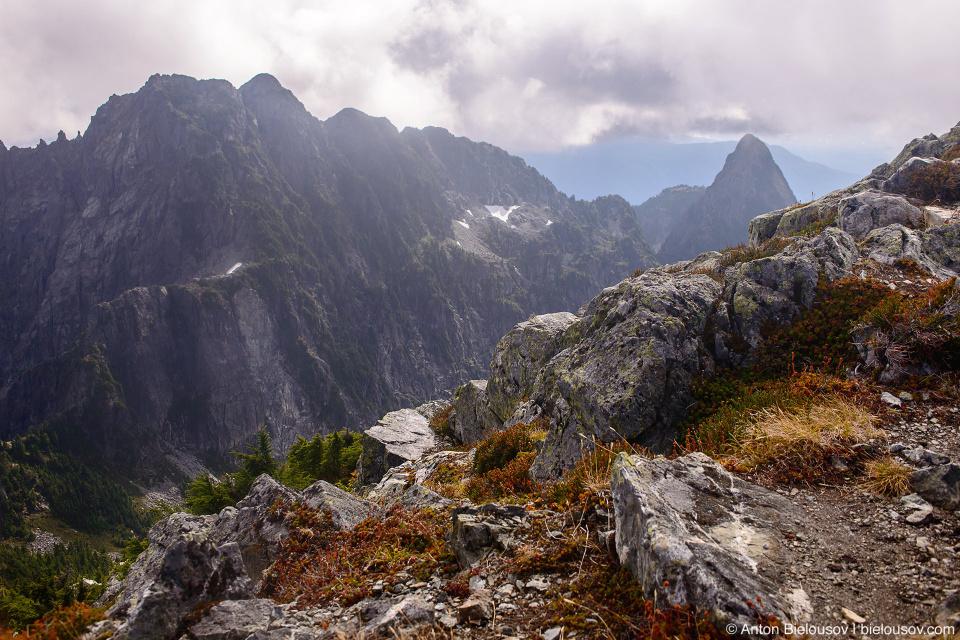 Golden Ears Peak top