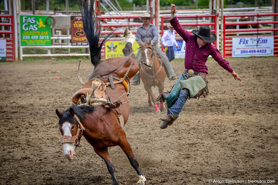 Rodeo in Keremeos, BC
