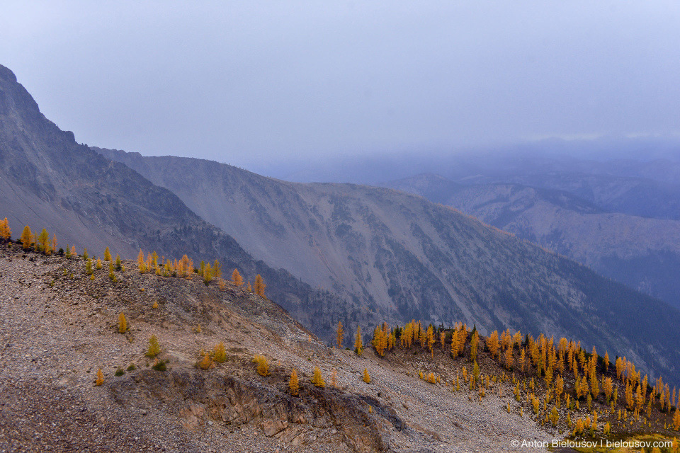 Снежная туча в горах, Frosty Mountain, Manning Provincial Park, BC