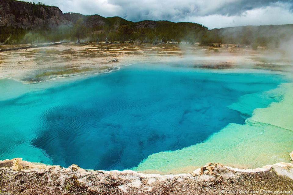 Sapphire Pool — Yellowstone, NP