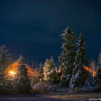 Здесь, на высоте 1200м попадаешь буквально в зимнюю сказку в лучших традициях новогодних открыток.