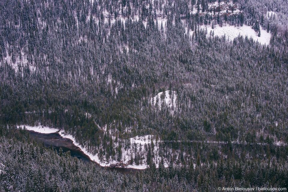 Spahats Creek Falls Lookout, Wells Gray Provincial Park, BC