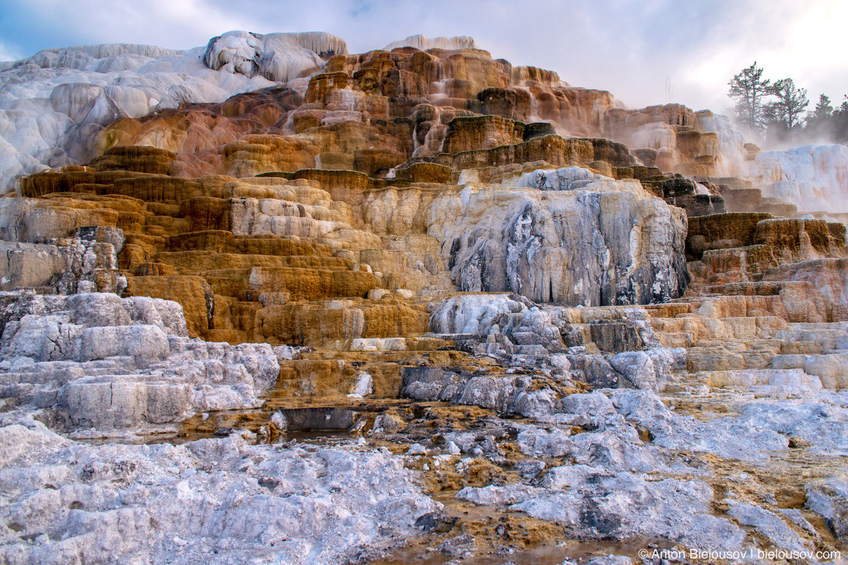 Palette Spring — Yellowstone, NP