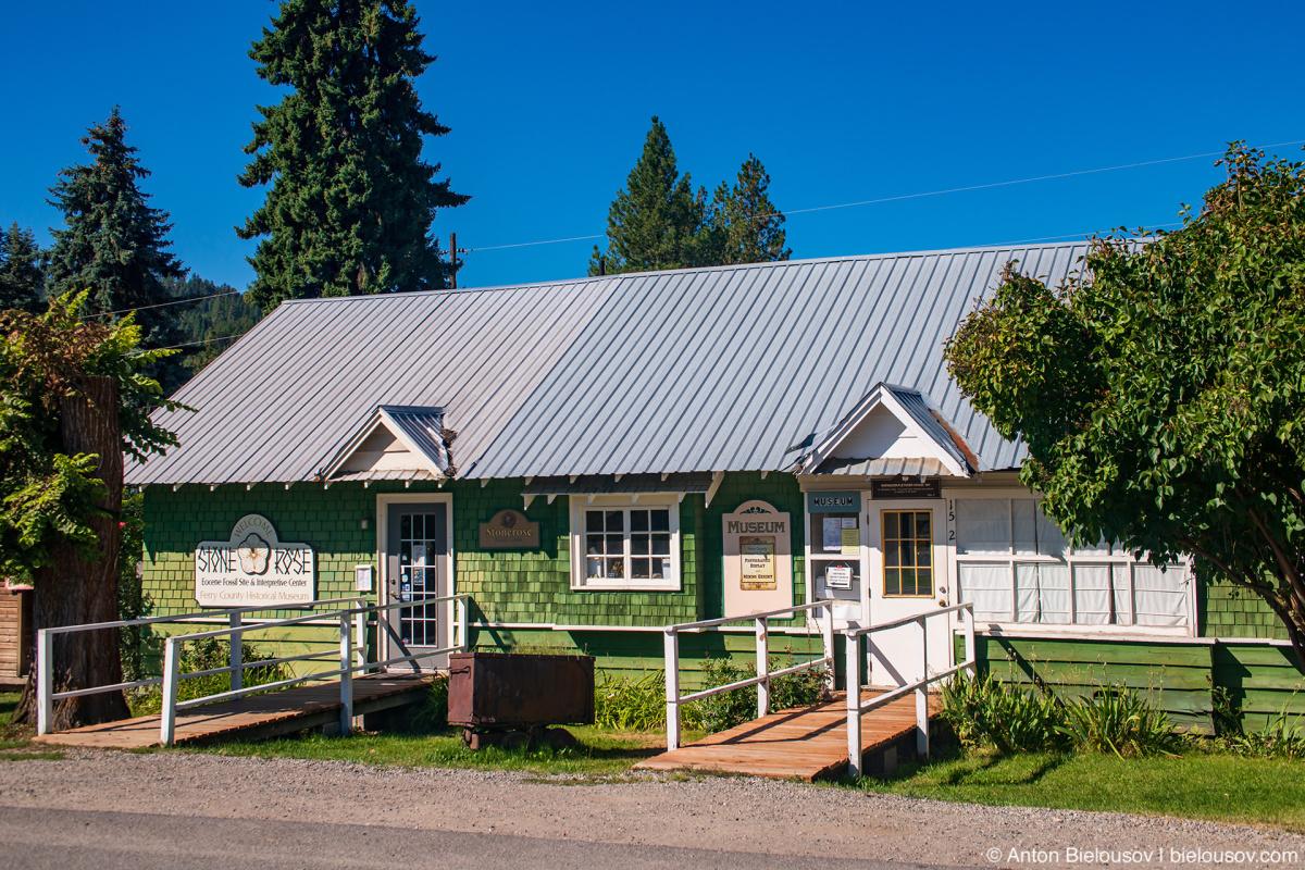 Stonerose museum — Yellowstone NP