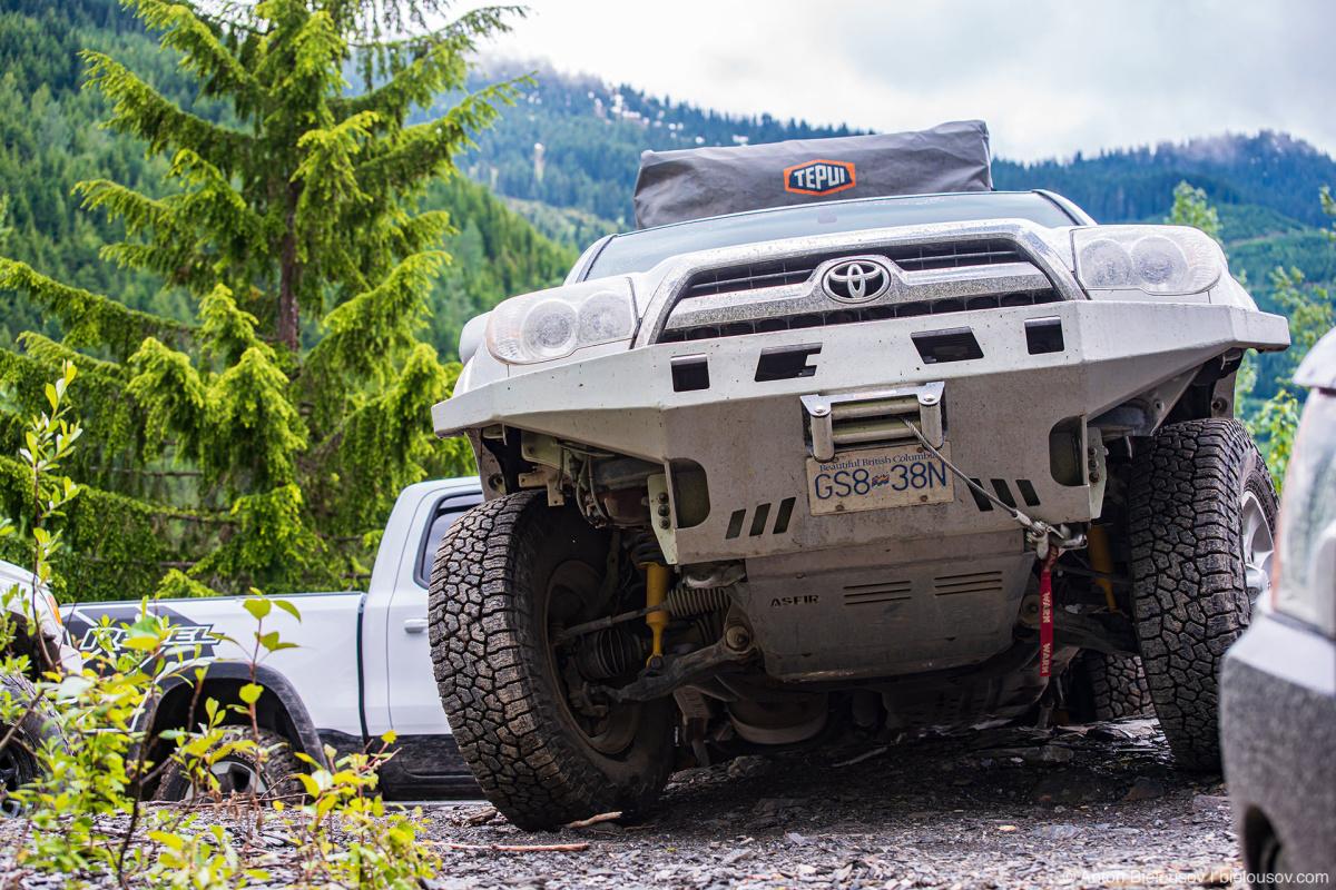 Toyota 4Runner Offroad Thurston Loop — Mount Cheam (Chilliwack, BC)