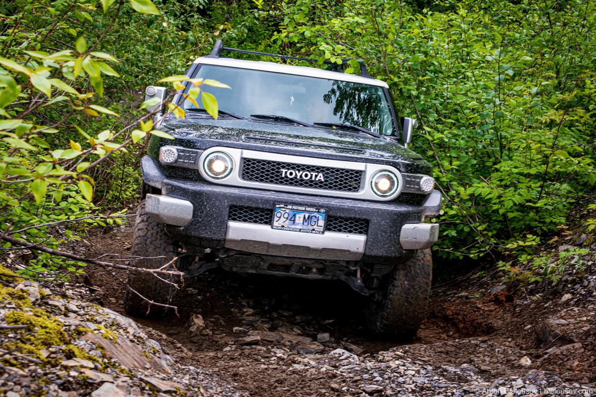 Toyota FJ Cruiser Offroad Thurston Loop — Mount Cheam (Chilliwack, BC)