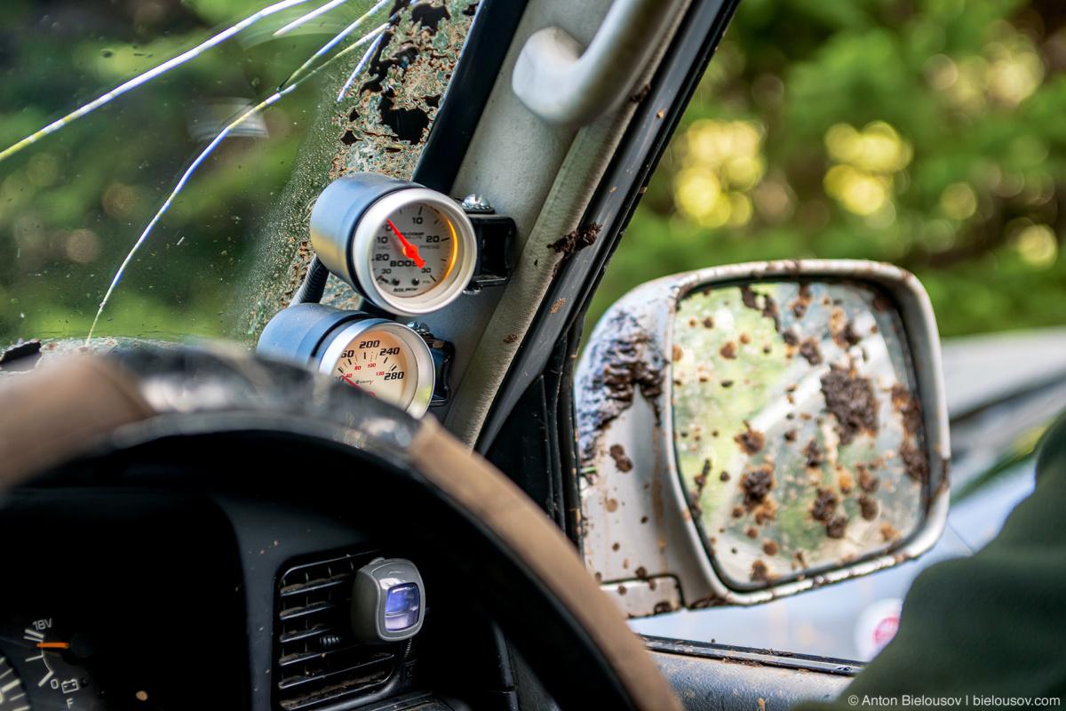 Land Cruiser gauges