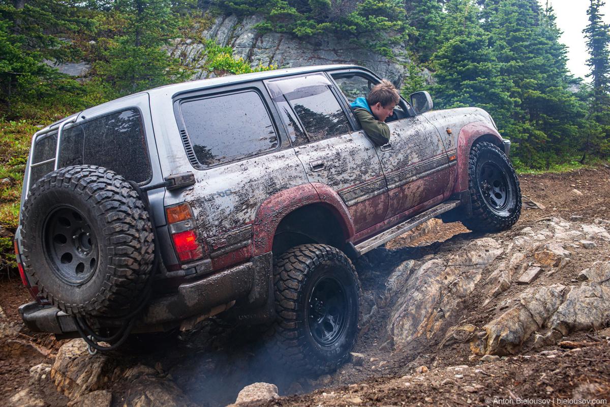Whipsaw Trail Land Cruiser rock crawling