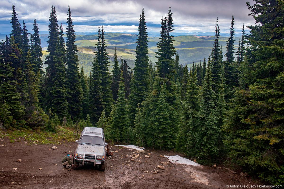 Whipsaw Trail Memorial Rock Land Cruiser Air Down