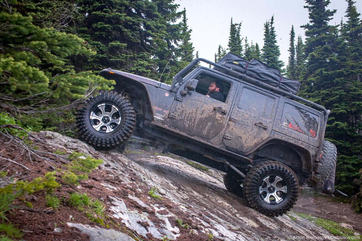 Whipsaw Trail Memorial Rock Jeep Rubicon (JeepBC)
