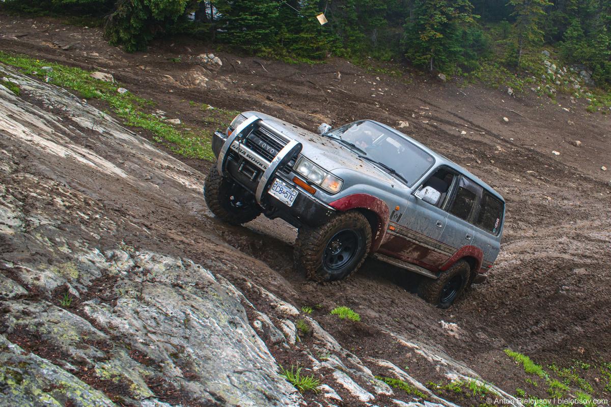 Whipsaw Trail Memorial Rock Land Cruiser