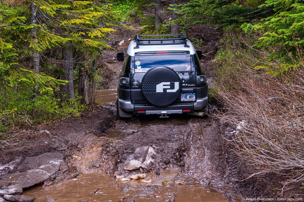 4x4 Thurston Loop — Mount Cheam (Chilliwack, BC)