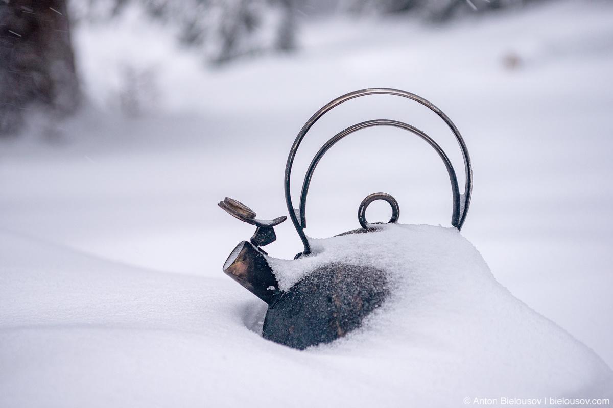 Чайник в снегу — Whipsaw Trail